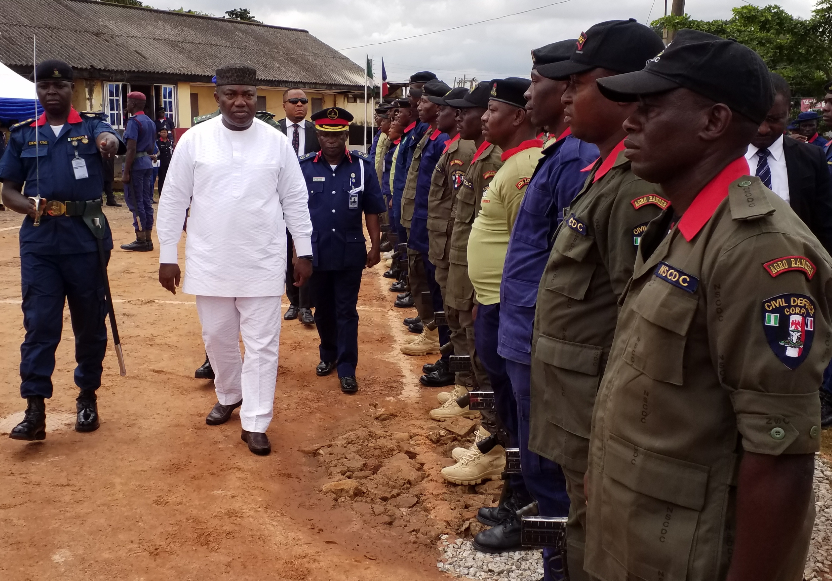 NSCDC lauds Ugwuanyi's commitment on security NEWS - The