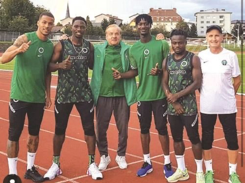 Omeruo, Simon, 11 others hit Eagles' camp