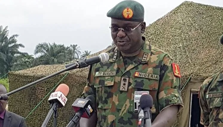 Chief of Army Staff, Lt. Gen Tukur Buratai
