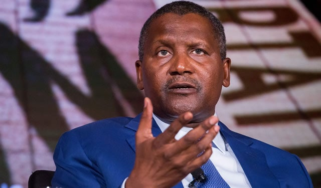 Dangote invests N63bn in Enugu-based automaker, buys 3,500 trucks