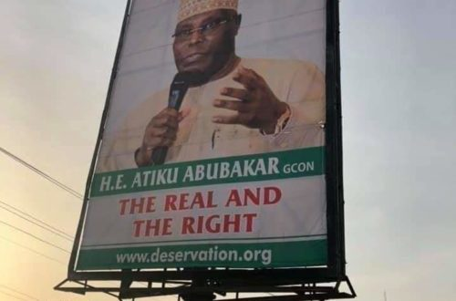 Atiku dissociates self from 'Pukka' posters in circulation