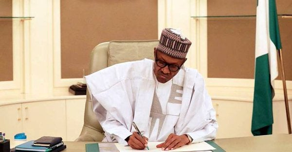 Buhari signs Executive Order 009 ending open defecation by 2025