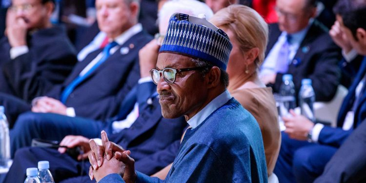 Buhari in Paris, France