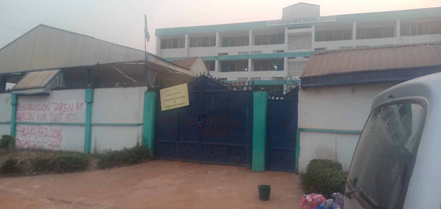 Over 300 students trapped as AMCON takes over school in Enugu