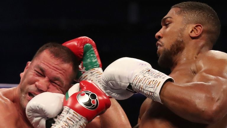 Joshua knocks out Pulev to retain world heavyweight titles