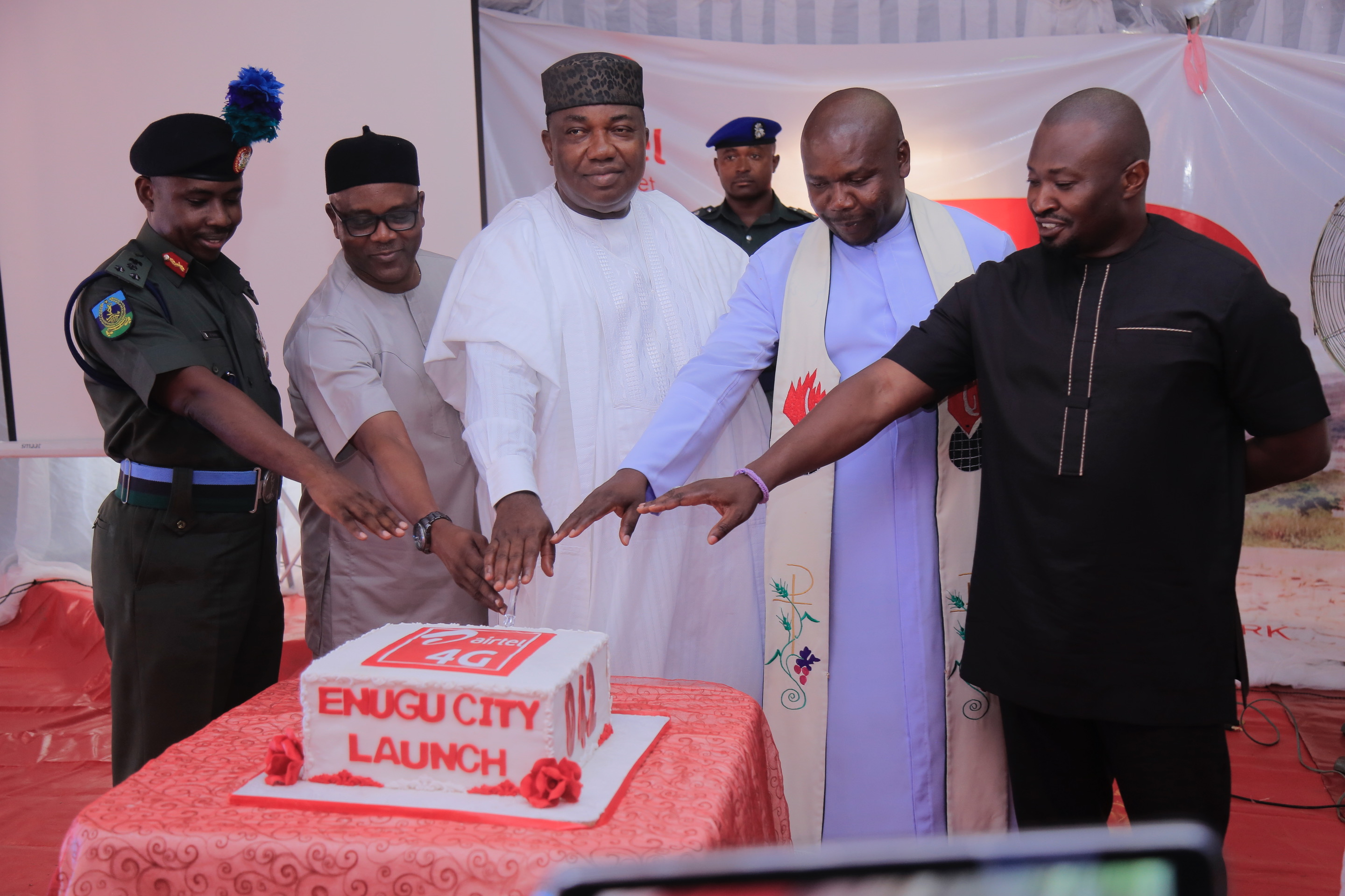 Ugwuanyi hails Airtel for Modernizing Network Infrastructure in Enugu