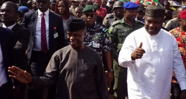 Enugu one of best states for MSMEs, says Vice Pres. Osinbajo