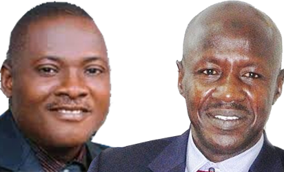 Innocent Chukwuma  and EFCC Boss, Ibrahim Magu