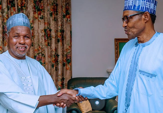 Masari and Buhari