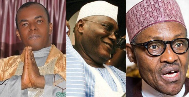 Mbaka, Atiku and Buhari