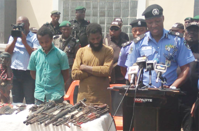 Jimoh Moshood and the alleged thugs hired by Dino Melaye Melaye, 3 others charged with illegal posse
