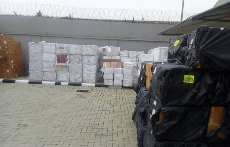 NDLEA impounds tonnes of Tramadol at Lagos airport
