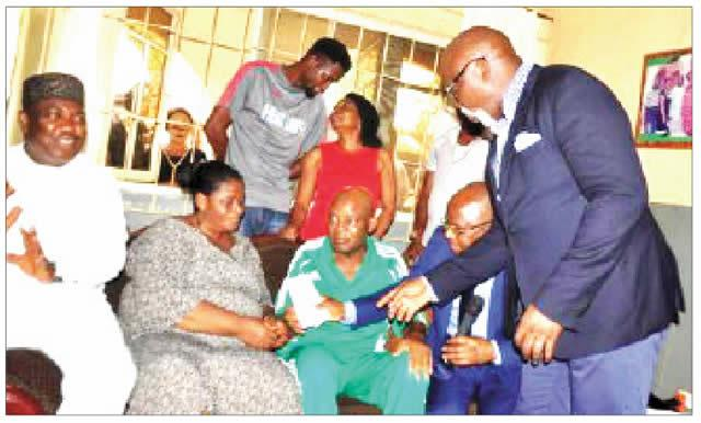 Otedola donates N18m for Chukwu's overseas treatment *Ugwuanyi employs son