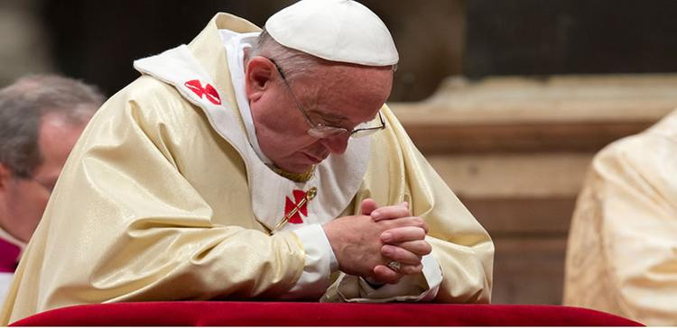 Pope begs for God's forgiveness for sexual abuse scandal