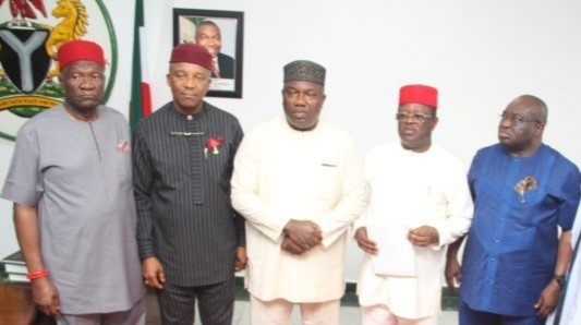Assaulting Igbo leaders can never guarantee Biafra - S'East Govs