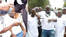 Fayose weeps, claims he was beaten by policemen