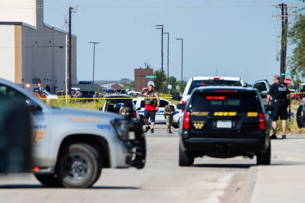 West Texas mass shooting leaves 5 dead and 21 wounded