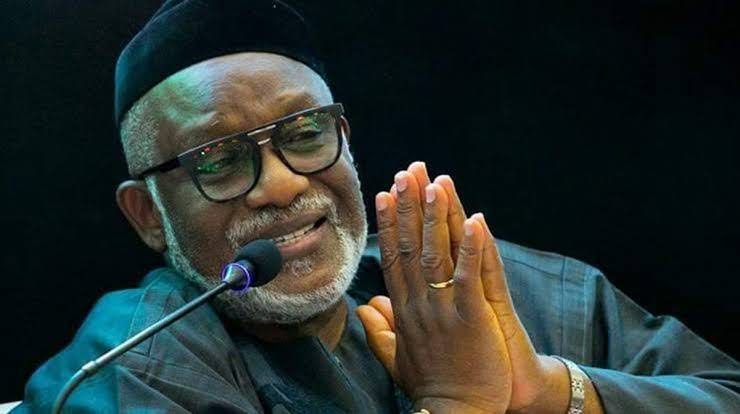 Guber poll: Ondo is not Rivers – Akeredolu tells Wike