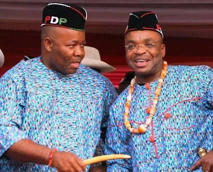 Akpabio and Udom when the going was good