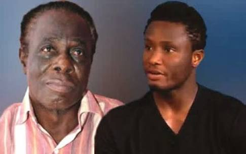 Mikel and his father