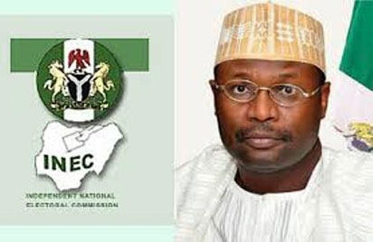 Prof. Mahmood Yakubu, Chairman,  Independent National Electoral Commission (INEC)
