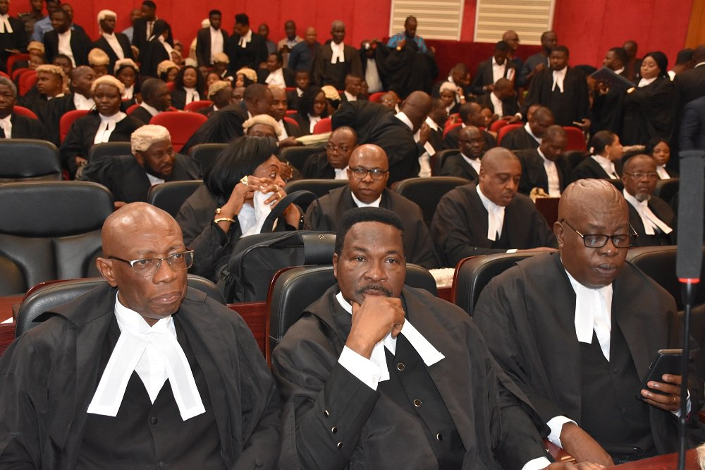 Lawyers in court for the judgment Wednesday