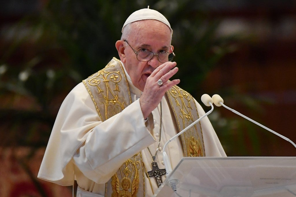 Easter: Pope calls for 'immediate' ceasefire in global conflicts