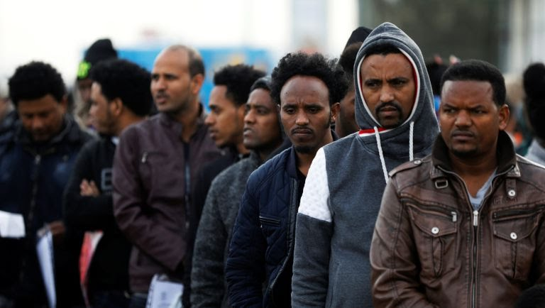 African Migrants  in Israel